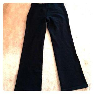 Lululemon Black Scuba Pants 8
